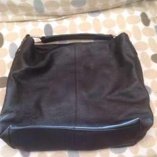 Manzoni Leather Tote Bag
