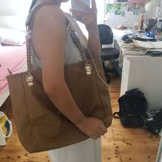 Colette Faux Leather Tote