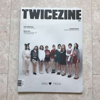[INSTOCKS] TWICE TWICEZINE MAGAZINE