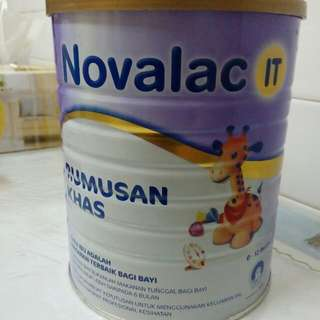 Novalac It - susu sembelit. milk for constipation babies.