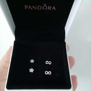 Pandora Sterling Silver Earrings