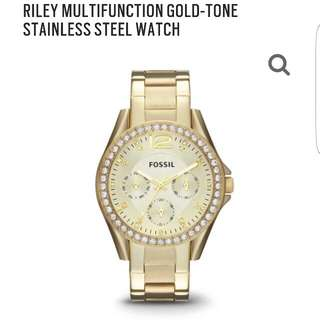Brand New Woman's Fossil Watch