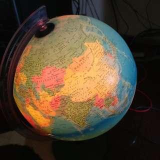 World Globe - With Lights!!