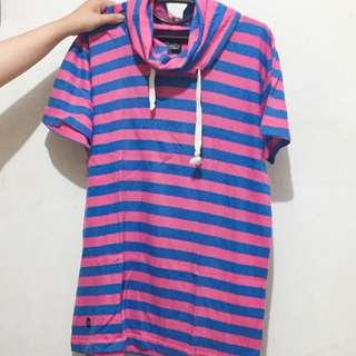 Mini Dress Shirt(with Turtle Neck)