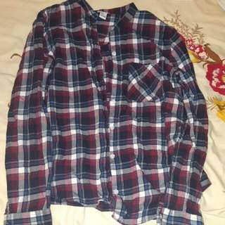 F21 Flannel/button Up