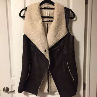 H&m Shearling Vest