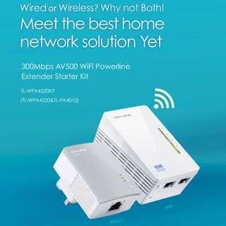 Wi-Fi Powerline Extender Starter Kit (3 Pieces Set)