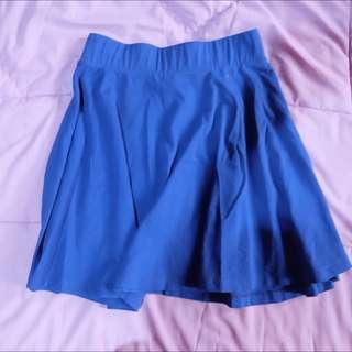 Pull&Bear - Blue Skirt