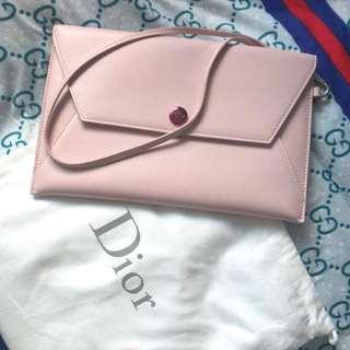 Dior Envelope Baby Pink Clutch