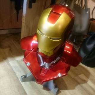 Iron Man 1/4 Size. Life Size Helmet With Lights.