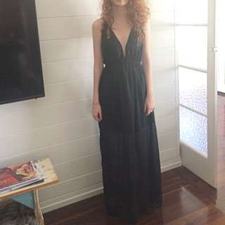 Black Formal Maxi Dress