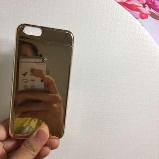H&M chrome mirror case iphone 6/6s