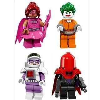 LEGO 蝙蝠俠人偶包