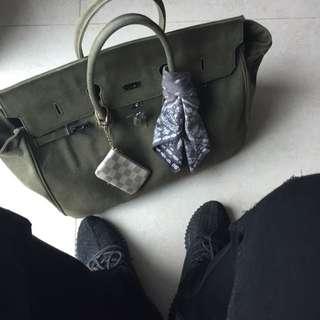 做舊軍布birkin袋