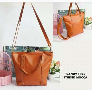 Candy Tres Studed Mocca