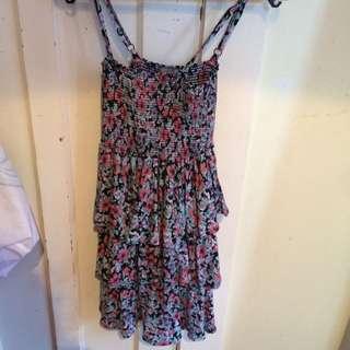 Colourful Flower Dress