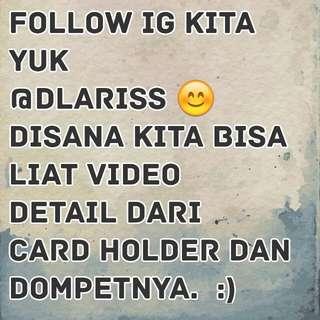 Follow Ig @dlariss :)