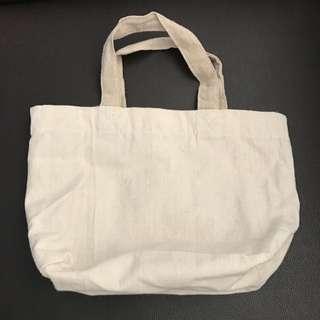 Plain Mini Canvas Bag