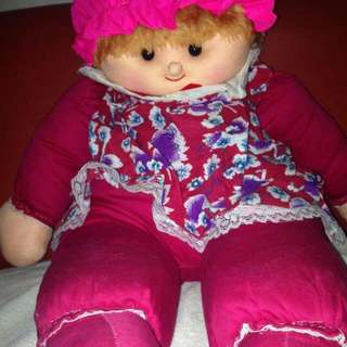 Large Baby Girl Stuff Toy