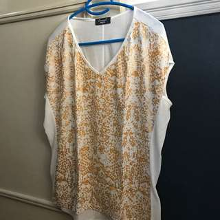 Women's Loose Party Top (Marisa, Brazilian Brand)