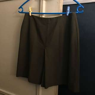 Green Basic Suit Skirt (M to L)