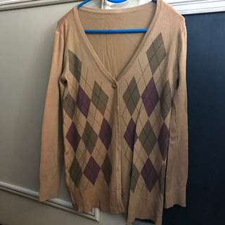 Men's Cut Cardigan