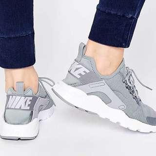 Nike Stealth Grey Air Huarache Ultra Sneakers