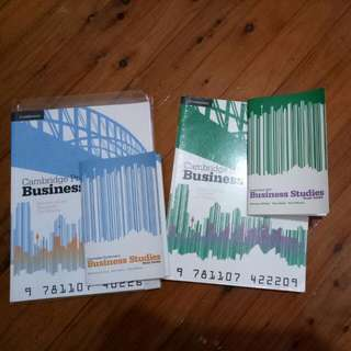 HSC Year 11 & Year 12 Business Studies Textbook And Study Toolkit Cambridge Marianne Hickey,  Tony Nada & Tim Winton Year 11 Never Used Year 12 Used