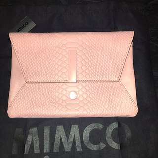 MIMCO Exclamation Envelope in ROSE
