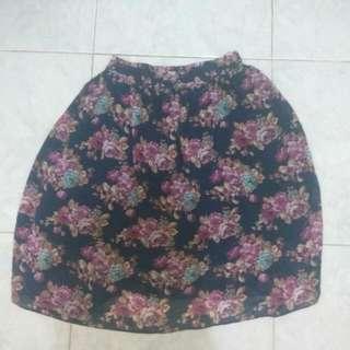 No Brand Floral Skirt