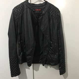 Esprit Leather Jacket