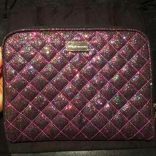 STEVE MADDEN Small Laptop / iPad Case (Glitter Purple)