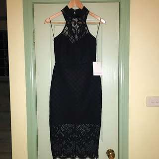 RUNAWAY LacE Evening Dress