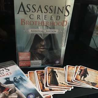 PS3 Assasin's Creed Brotherhood (Auditor Edition)