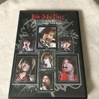 Kis My Ft2 演唱會dvd