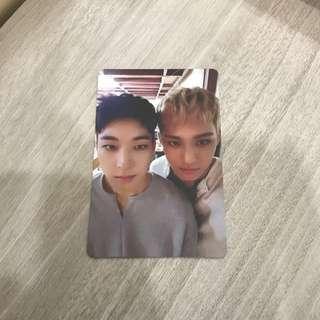 Wonwoo X Ming Yu Going Seventeen Photocard