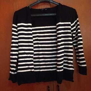 Striped Bolero