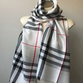 Burberry Light Weight Cashmere Scarf