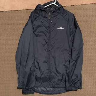 Kathmandu Pack2Go Windbreaker/Spray Jacket Blue Size Medium
