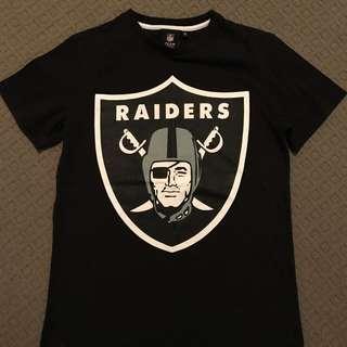 Raiders NFL T Shirt Vintage Look Men's Small