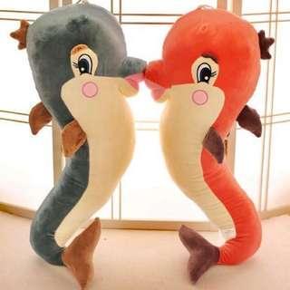 海豚 玩偶 抱枕