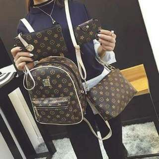 LV 4 in 1 High Quality Bags
