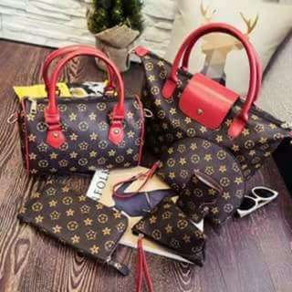 LV 6 in 1 High quality Bags