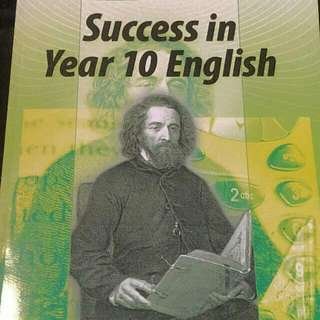 Year 10 English Succes Textbook