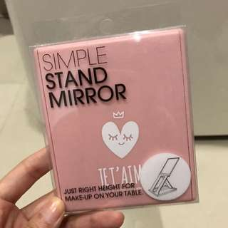 Stand Mirror - Pink