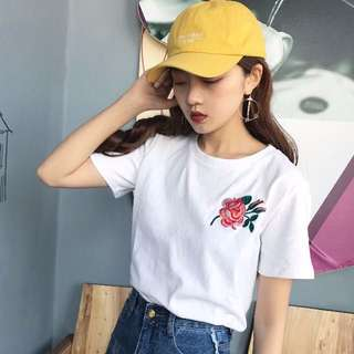 ✨ [PO] Embroidered Rose Top ✨