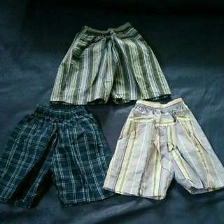 Celana Pendek Anak 1-3y