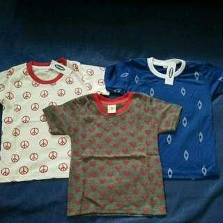 Baju Kaos Bayi / Anak 9m-3y