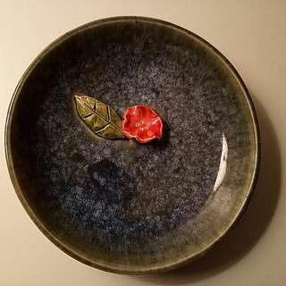 Handcrafted Ceramic Display Plate