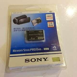 全新,末開Sony Memory Stick